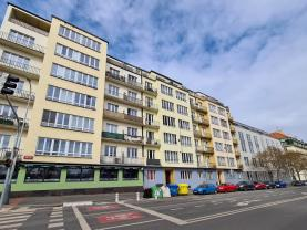 Pronájem bytu 2+kk, 55 m2, Praha 7, ul. Jankovcova