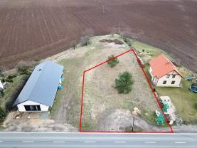 Prodej, pozemek k výstavbě, 1300 m2, Skorkov