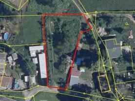 Prodej pozemku k bydlení v Chrastavě, Horní Vítkov, 1442 m2