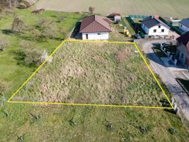 Prodej pozemku k bydlení, 994 m², Kly