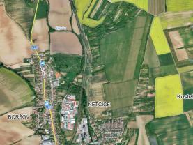 Prodej vinice, 2884 m², Kyjov