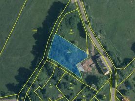 mapka (Prodej pozemku, 1825 m², Stružnice), foto 4/4