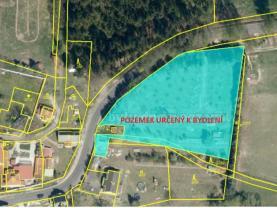 Prodej pozemku k bydlení, 5228 m², Tuřany