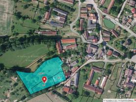 Prodej pozemku k bydlení, 5472 m², Radenín