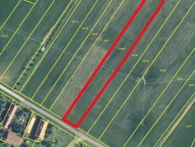 Prodej, zahrada, 3021 m², Lodín