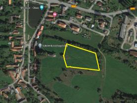Mapa 1.png (Prodej pozemku k bydlení, 6686 m², Milešov), foto 2/6