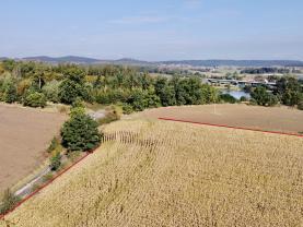 Prodej pozemku k bydlení, 13166 m², Dobev
