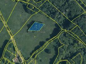 mapka (Prodej pozemku, 1816 m², Stružnice), foto 4/4