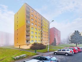 Pronájem, byt 1+1, 36m2, DV, Chomutov, ul. Borová