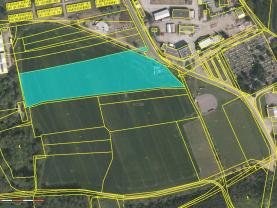 Prodej pole, 4922 m², Pardubice