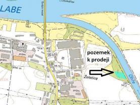 Prodej pozemku, 3897 m², Litoměřice