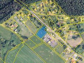 Prodej pozemku k bydlení, 1480 m², Výhledy, Hazlov