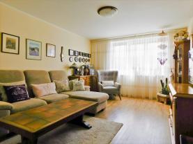 Obývací pokoj (Prodej, byt 2+kk, 62 m², Litoměřice, ul. Spojovací), foto 4/9