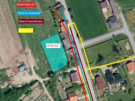 Prodej pozemku k bydlení, 1378 m², Police