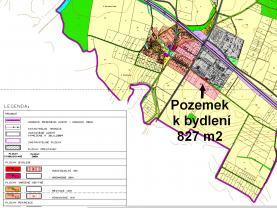 Prodej pozemku k bydlení, 827 m², Bohušovice nad Ohří-Hrdly