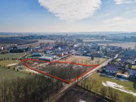 Prodej pozemku k bydlení, 6367 m², Ptice, ul. K Dráze