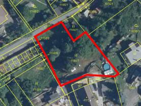 Prodej pozemku k bydlení, 1291 m², Chrastava, ul. Frýdlantská