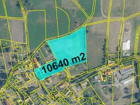 Prodej pozemku k bydlení, 10640 m², Liběšice
