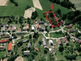 Prodej, pozemek k bydlení, 3 415 m2, Poběžovice - Šitboř