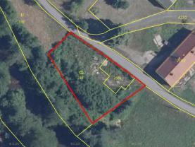 Prodej pozemku k bydlení, 1260 m², Bílý Kostel nad Nisou
