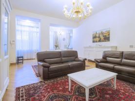 Pronájem, byt 3+kk, 107 m², Praha, ul. Italská