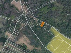 Prodej lesa, 942 m², Račice u Hrotovic