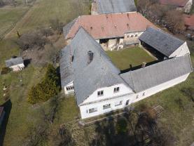 Prodej zemědělské usedlosti, pozemek 3096 m2, Němčice