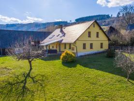 Prodej, rodinný dům 3+1, 1100 m2, Zahorčice na Šumavě