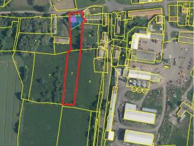 Prodej pozemku k bydlení, 150 m², zahrada 3429 m2, Novosedly