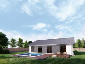Prodej, rodinný dům, 135 m², Lužany
