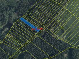 Prodej lesa, 5101 m², Vlašim