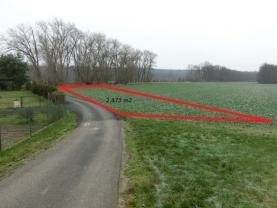 Pole 2.473 m2 (Prodej, pole 2.473 m2, Záluží u Roudnicen/L), foto 2/7