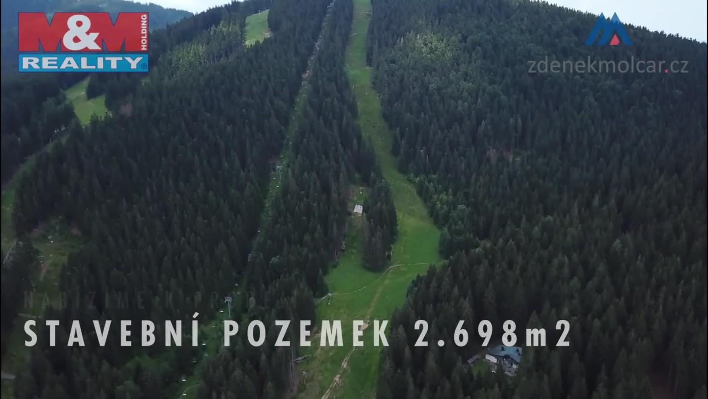 Prodej, stavební pozemek, 2698 m2, Železná Ruda - Špičák