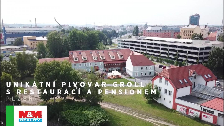 Prodej, hotel, pivovar, Plzeň, ul. Truhlářská