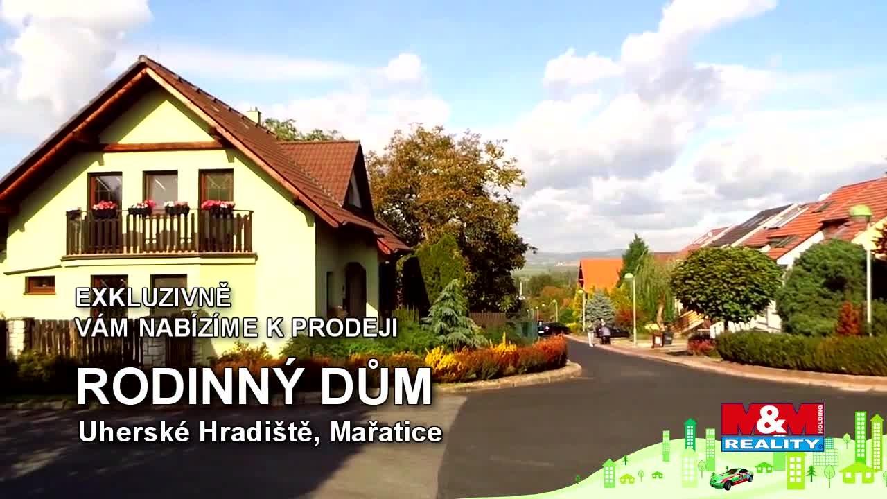 Prodej, rodinný dům 5+1, 416 m2, Uherské Hradiště, Mařatice