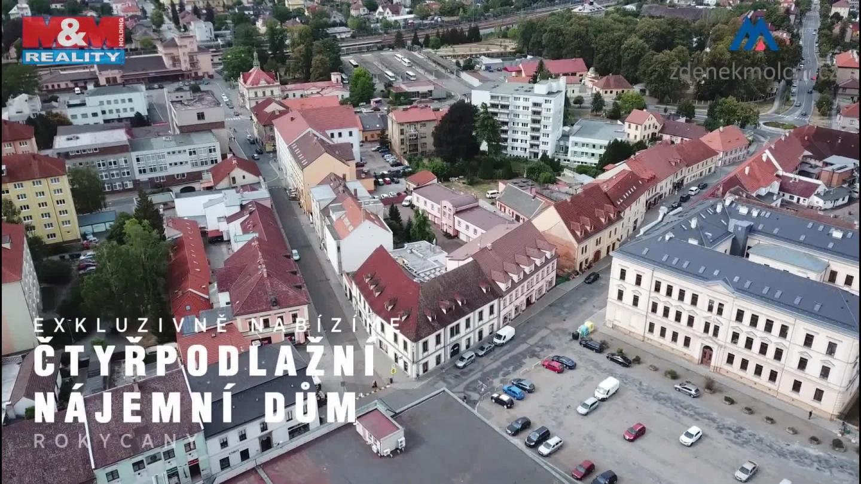 Prodej, nájemní dům, 1314 m2, Rokycany, ul. Palackého