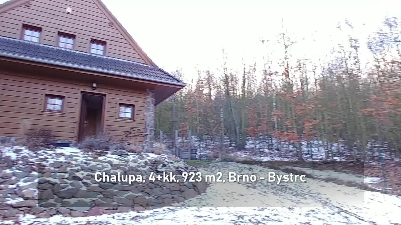 Prodej, chalupa, 4+kk, 923 m2, Brno - Bystrc - Chochola
