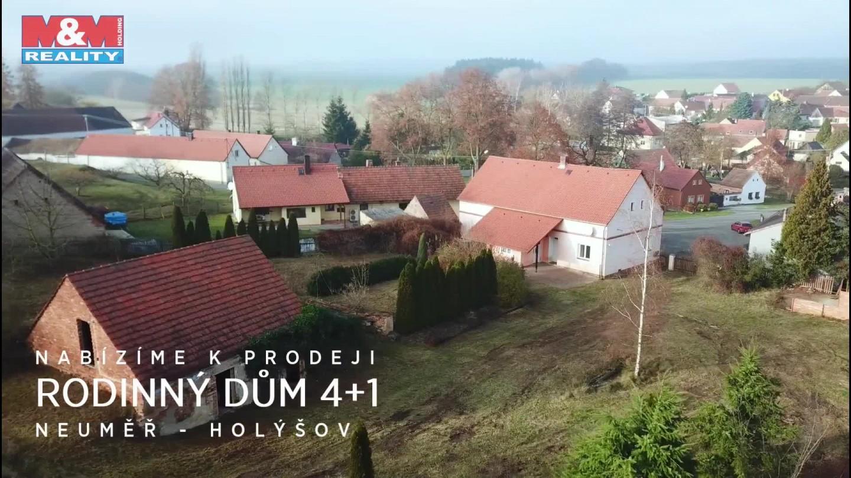Prodej, rodinný dům 4+1, 1427 m2, Neuměř, Holýšov