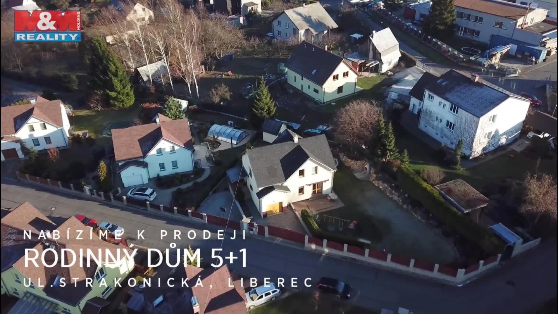 Prodej, rodinný dům 5+kk, 150 m2, Liberec, ul. Strakonická