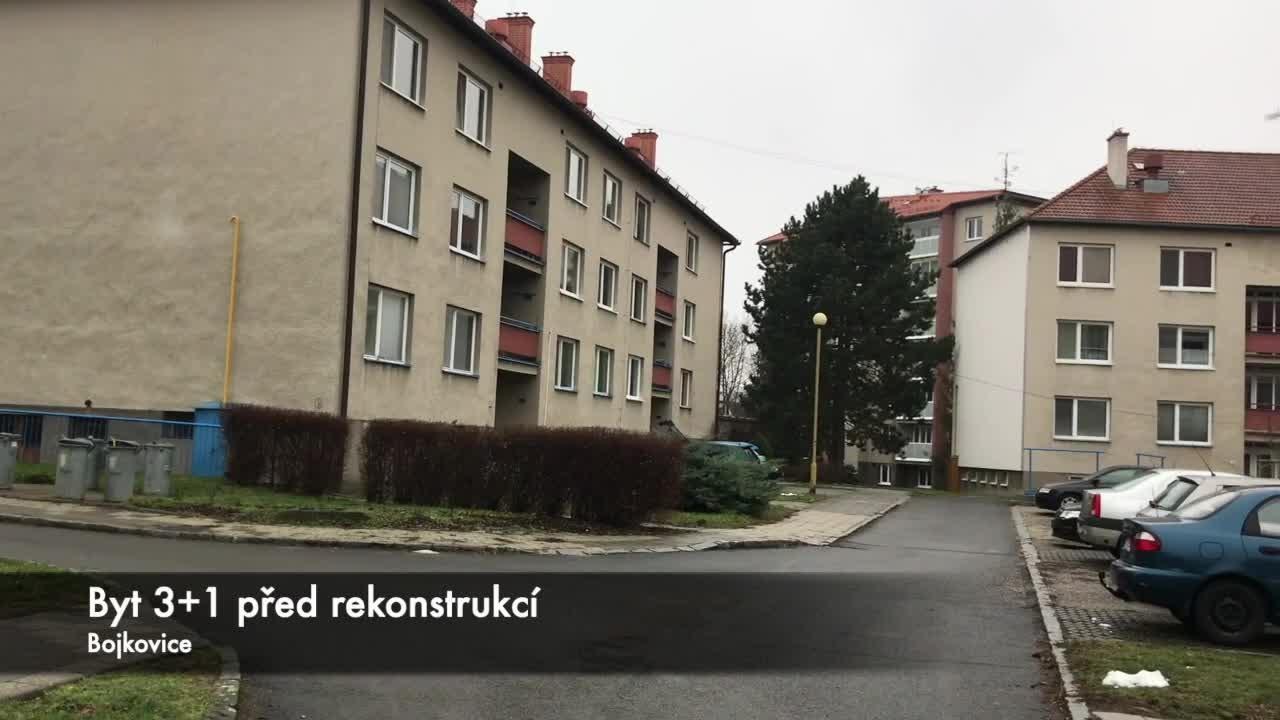 Prodej, byt 3+1, Bojkovice, ul. Čtvrť 1. máje