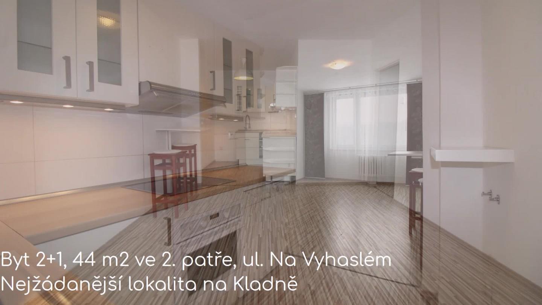 Prodej, byt 2+1, Kladno, ul. Na Vyhaslém