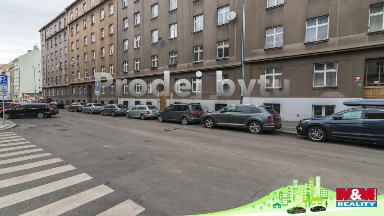 Prodej, byt 2+kk, 36 m², Praha 4 - Nusle