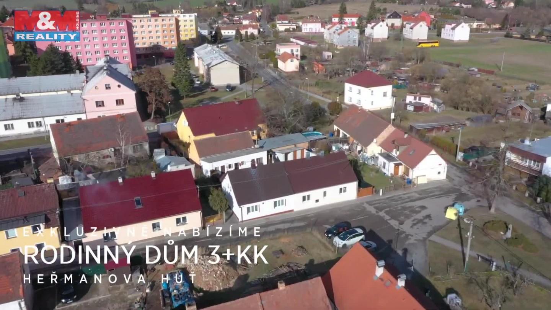 Prodej, rodinný dům 3+kk, 289 m2, Heřmanova Huť
