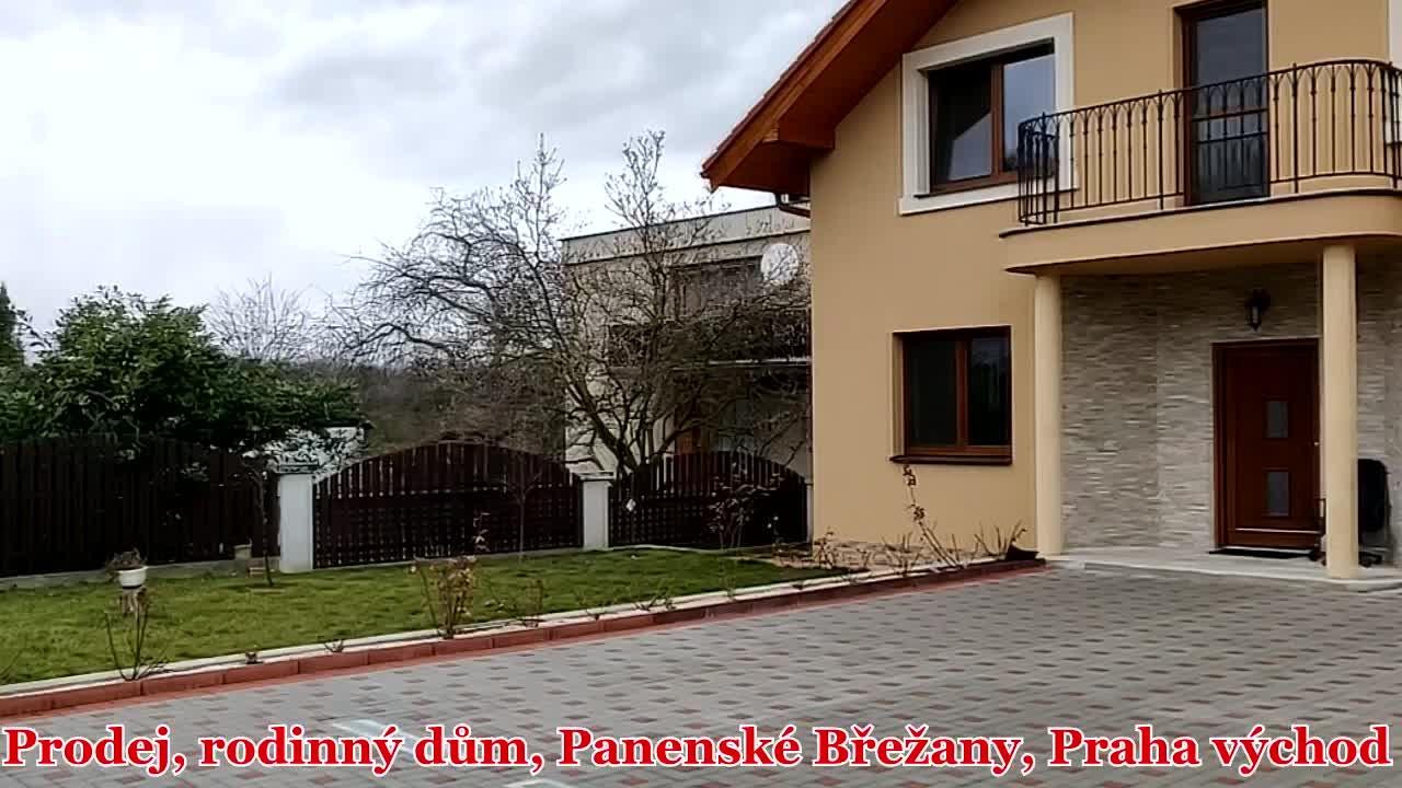 Prodej, rodinný dům, Panenské Břežany, Praha východ