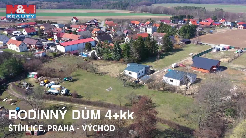 Prodej, rodinný dům, 4+kk, Praha východ- Štíhlice