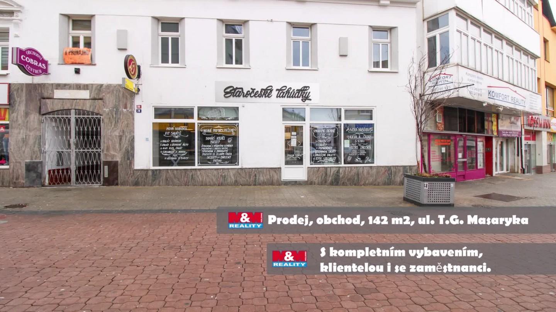 Prodej, obchod a služby, 142 m2, Kladno, ul. T.G. Masaryka